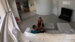 SpyFam – Brett Rossi Horny Stepmom Massages Stepson's Huge Cock