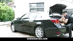 Submissived - Kinky Teen Kidnapped In Trunk & Fucked