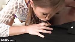 Paige Owens' First BBC Anal - DarkX
