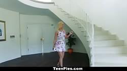 TeenPies - Curvy Blonde Creampied By Her Best Friend